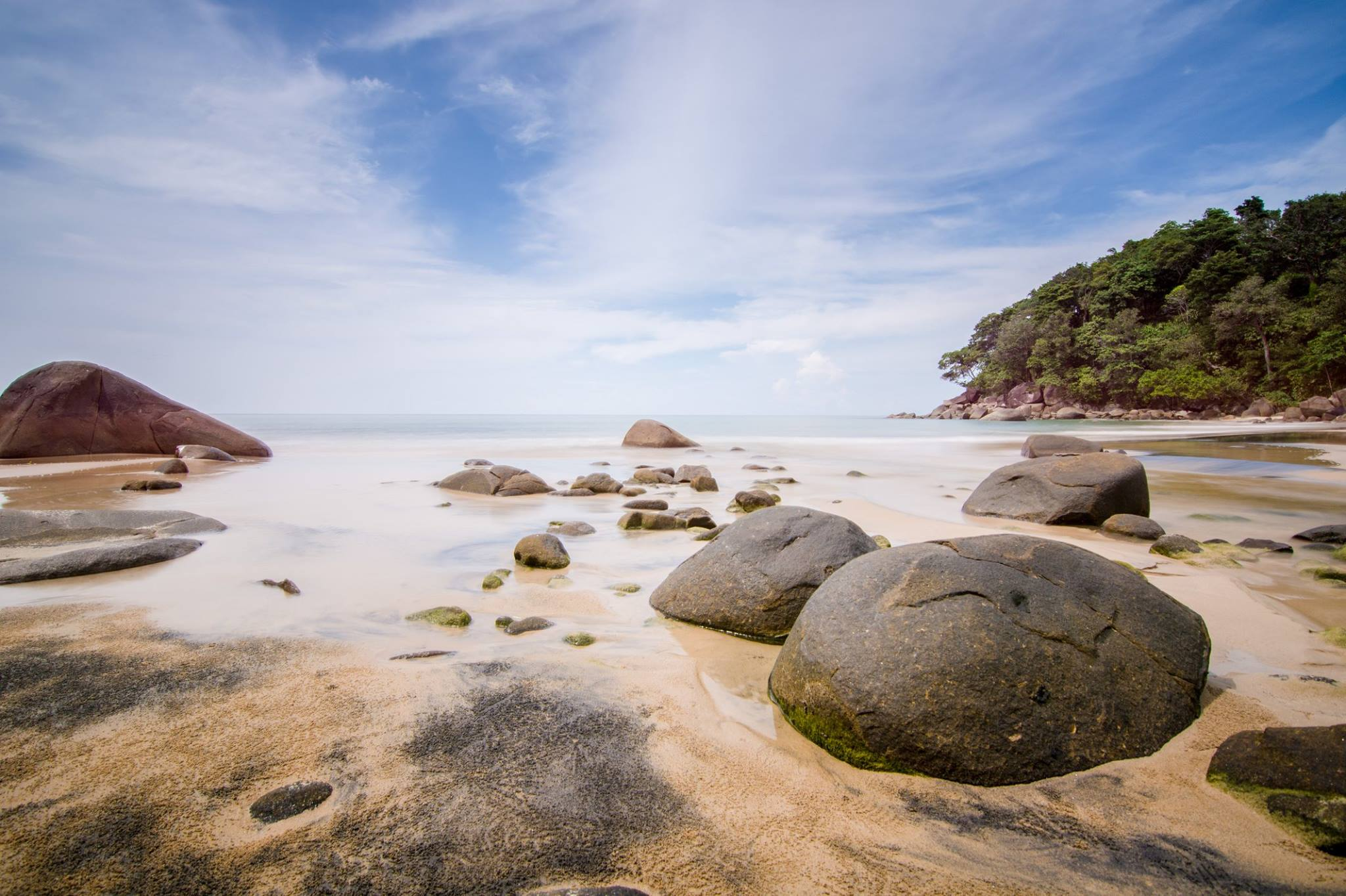Khao Lak Lam Ru Nationalpark - Small Sandy Beach