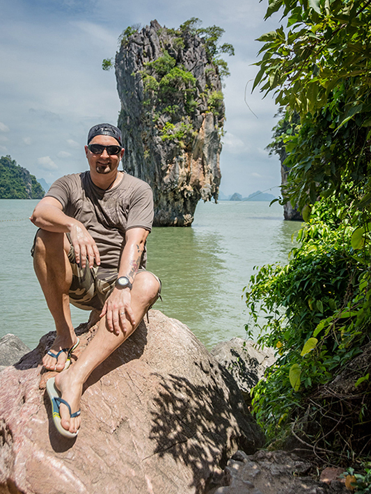 Phang Nga Bay - James Bond Felsen