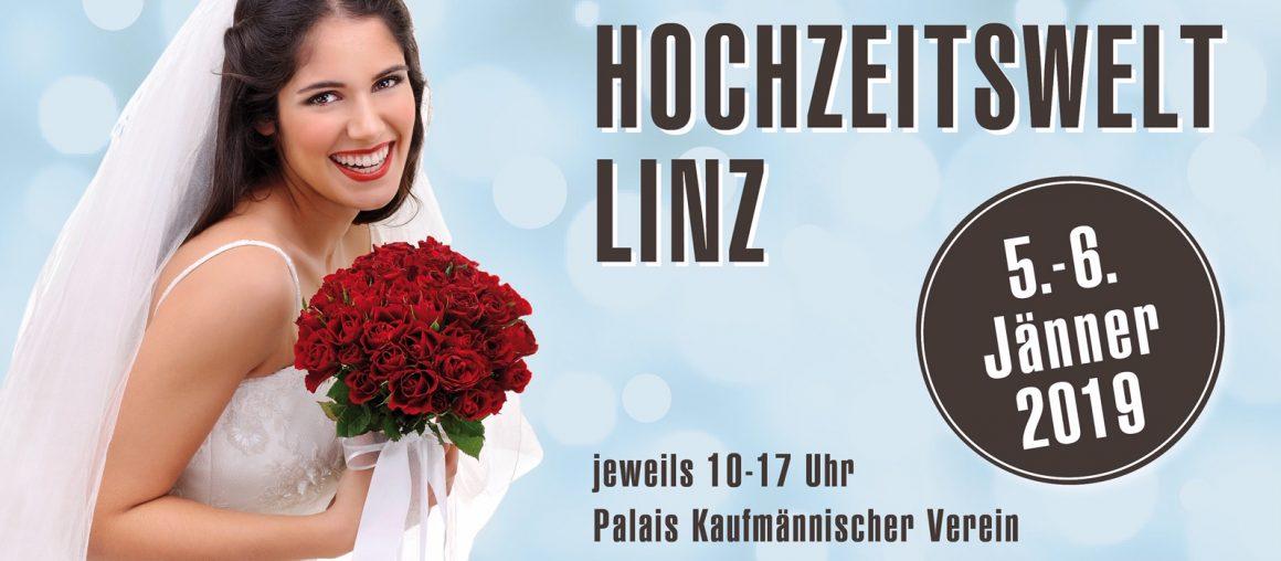 """Hochzeitsmesse """"Hochzeitswelt Linz 2019"""""""
